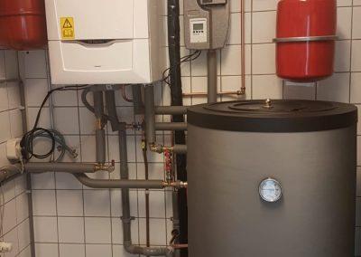 Zonneboiler systeem met heatpipes Slochteren